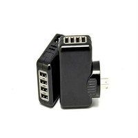 High quality usb charger 4 port wall charger adapter for mobile phone charger