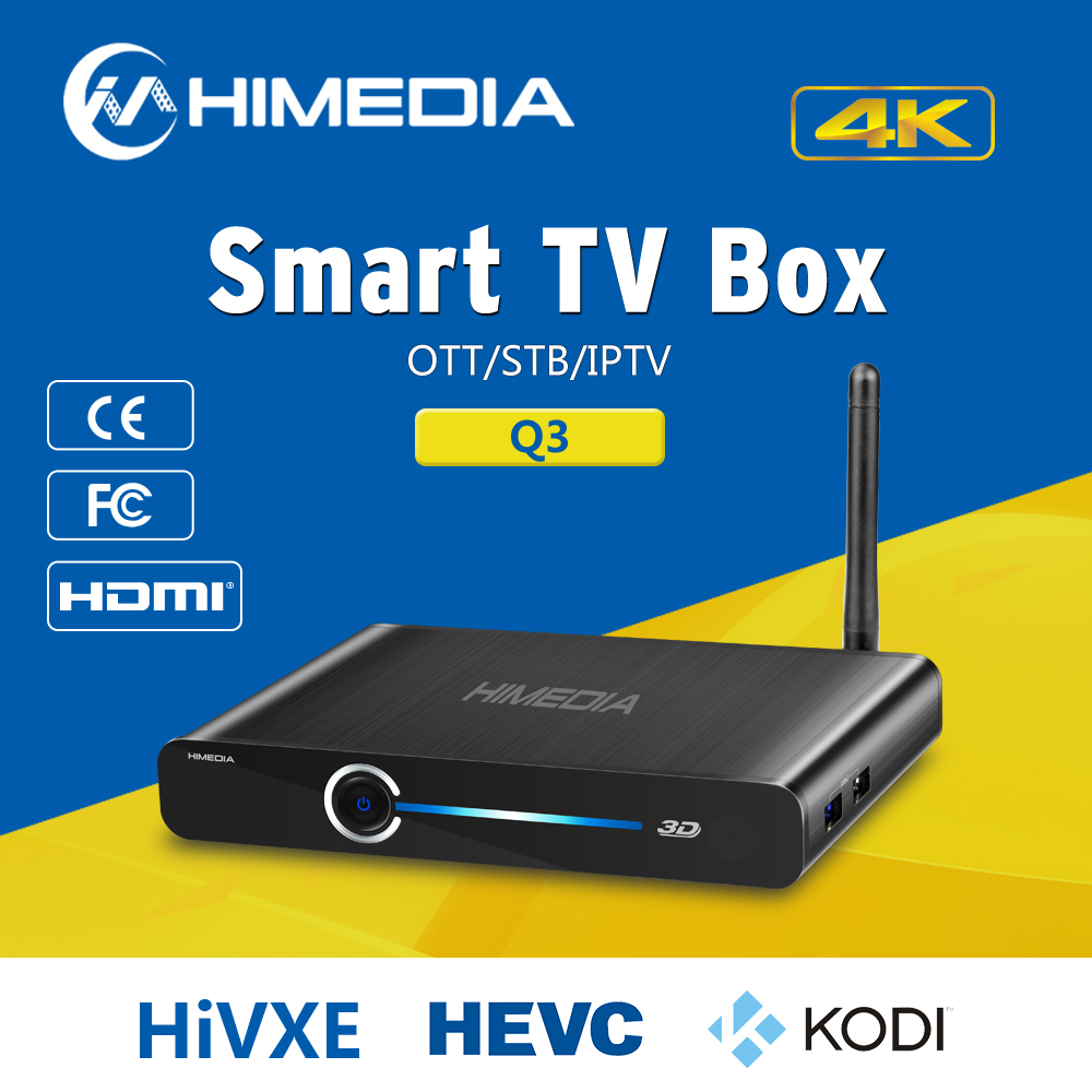 Factory Wholesale Quad Core Android HD 1080P Stream Smart Iptv TV Box