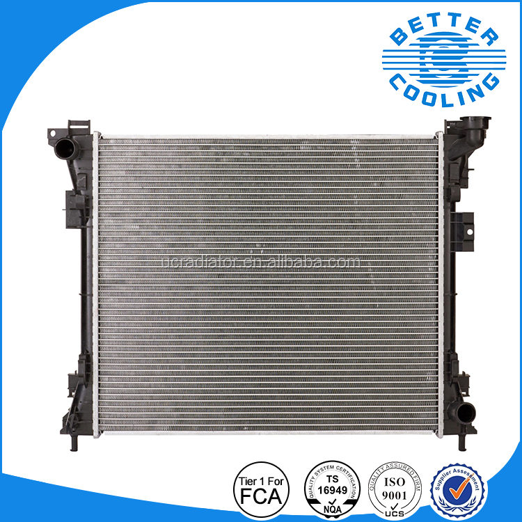 World Manufacturing Custom Aluminum Radiator Plastic Tanks Volkswagen 09-12 Routan Aluminum Car Radiator