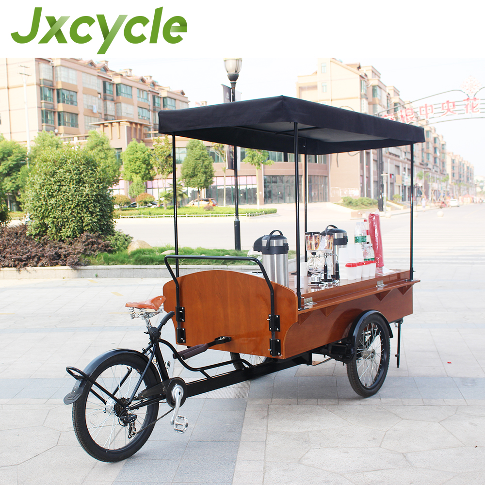 Fashiable and easy hold mobile coffee bike/food car