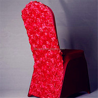 Newest Fancy Wedding Party Delicate Satin Rosette Chair cover