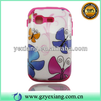 Wholesale Hybrid Phone Skin Hard Silicon Combo Case For Samsung S5300