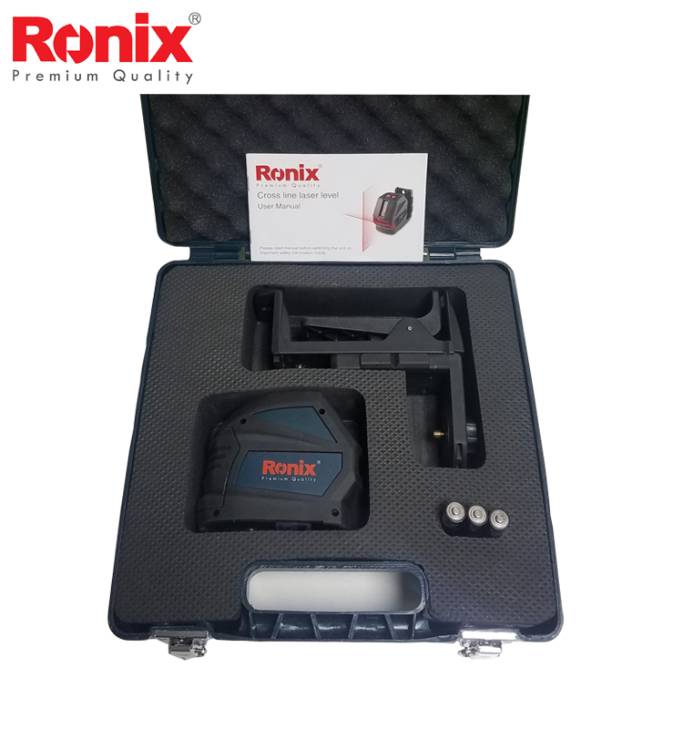 Ronix High Precision Automatic Leveling CROSS LINE LASER LEVEL RH-9500 in stock