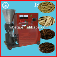 CE approved flat-die wood pellet plant mill with 300KG/H