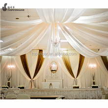 Hot Wholesale Backdrop Ceiling Pipe And Drape Kits For Weddings