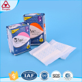 Free samples mesh cover sanitary napkin women menstrual pad