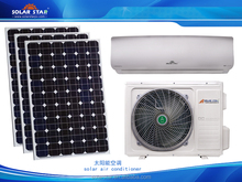 Solar ground source heat pump air conditioner water heater