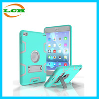 Unbreakable protective Sillicone+PC case for ipad mini 4