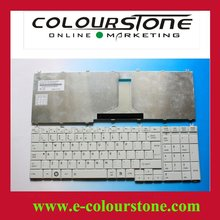 New keyboard for TOSHIBA SATELLITE C650 C650D US White Laptop keyboard