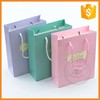 High quality recycled tote shopping paper bags wholesale