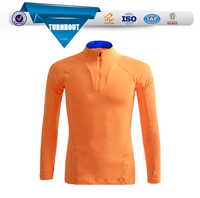 Custom wholesale clothing polyester t-shirt long sleeve mens t shirt