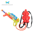 Children plastic material wrist water gun bag with Cartoon Backpack in China