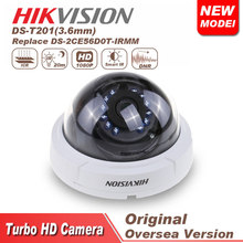 hikvision cctv camera HD 1080p Indoor IR Dome Camera DS-T201 Analog HD output