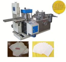 Hot selling napkin folding machine/industrial roll tissue machine in china