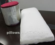 Molded Memory PU Foam, Rolled Packing Double Pillow