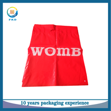 Factory wholesale carrier bags LDPE plastic die-cut bags with handle for shopping