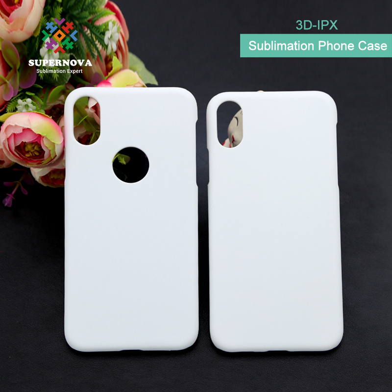 Custom Printed 3D Cell Phone Case For iphone X, Blank Cover Case Sublimation, Sublimation Blank Phone Case For iphone X