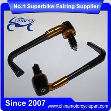 FRLUN004 Universal Motorcycle Lever Guards For Yamaha For Honda For Suzuki For Kawasaki For Ducati Gold