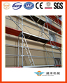 High quality long duration time European layher facade speedy scaffold with certificate