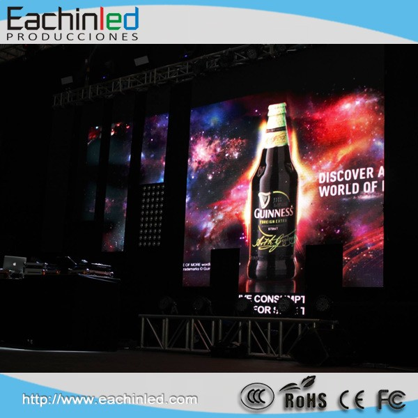 500x500mm Die-casting Aluminum LED Panel HD P3.9mm LED Display Screen