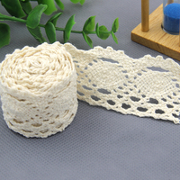 // Fashion flower pattern dry cotton lace // charming cord lace //