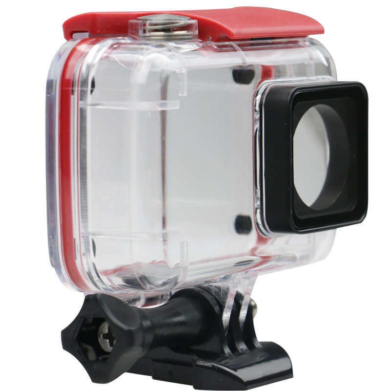 New hot sale for xiaomi yi 2 waterproof cases for xiao yi 2 sports action camera accessorie hard Transparent PVC high quality