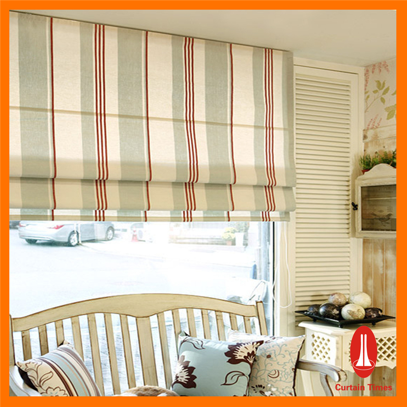 Curtain Times Motorized Roman Blind And Automatic