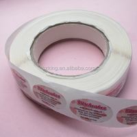 Personal Care Industrial Use and Offset Printing label stickers