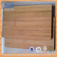 2014 New Designed Wholesale Natural Unfinished Bamboo Cutting Board