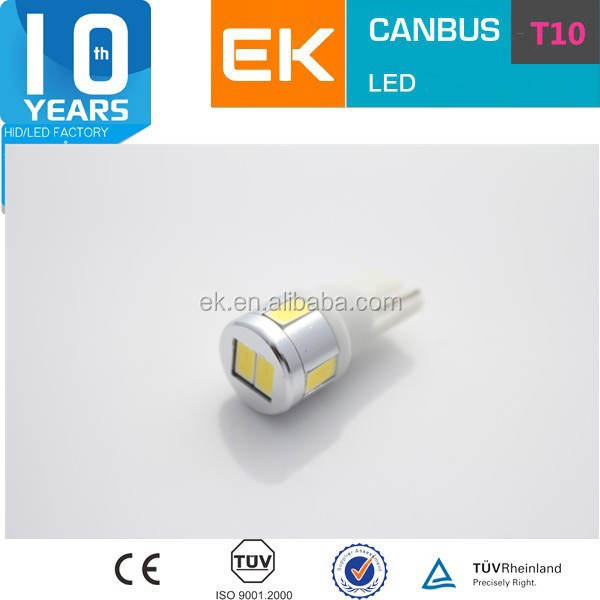 High Power T10 Canbus LED 5630 SMD led t10 194 w5w