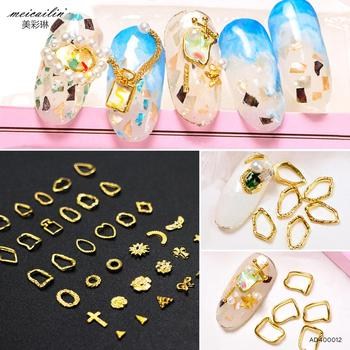 Nail Art Design Metal Ring Nail Art Decoration