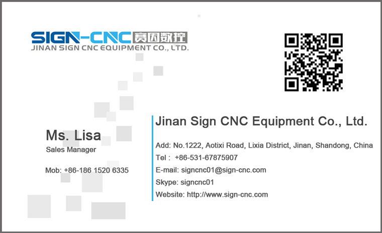 SIGN 1390 Advertising Laser engraving and cutting machine