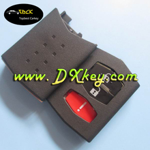 2016 cheap 2+1 buttons remote control key part shell for mazda key case car key blanks
