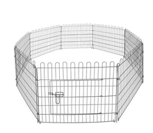 factory price folding dog kennel outdoor dog kennel fence for dog exercise