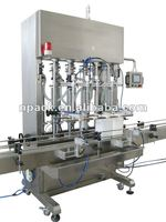 Anti foamy detergent filling machine