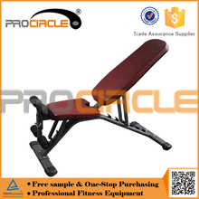 Gym Equipment Flat Adjustable Sit up Bench