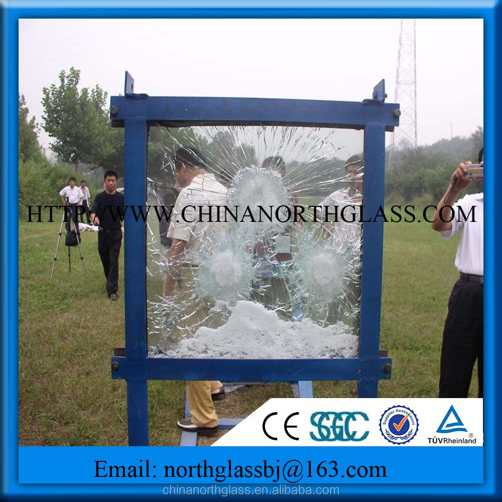 Hot Selling AK47 Bullet Proof Glass For Window Door