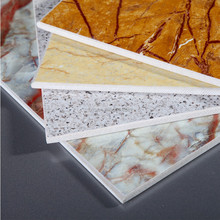 hot sale wall decoration imitation stone panel fiber cement board