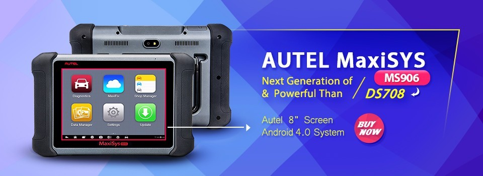 2017 AUTEL MaxiSYS MS906 Auto Diagnostic Scanner MS906 Next Generation of Autel MaxiDAS DS708 Diagnostic Tools Update Online