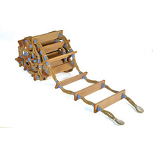 New product 2016 Flexible Marine Embarkation Rope Ladder With Nylon Rope of CE Standard