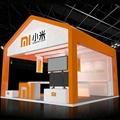 Wooden 6x6 trade show display exhibition booth for sale