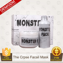 South Korea authentic [MONSTER PACK] MONSTER zombie sets of assembly water essence whitening firming mask powder