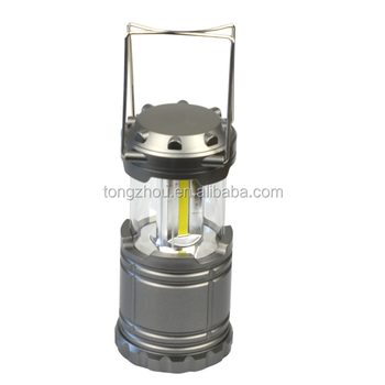 Protable Outdoor COB Led Camping Lantern Light Flashlight For Hiking Hunting
