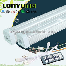 New design 2013 America & Canada etl tuv red t5 tube 60cm 90cm 120cm 180cm dimmable with remote control t5