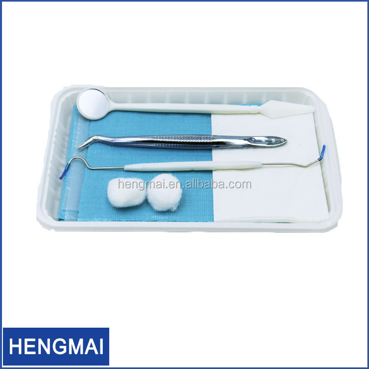 Sterile Examination Instruments disposable dressing dental kit