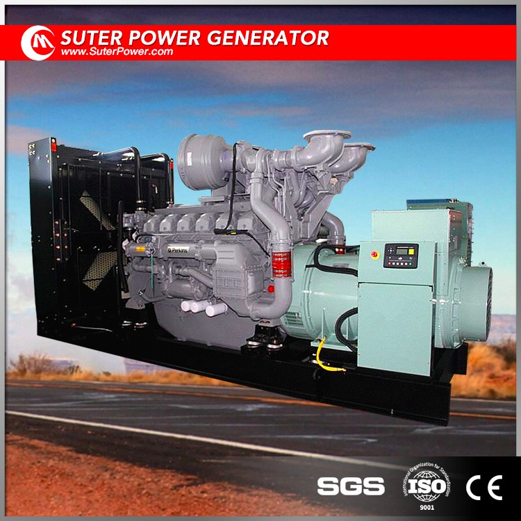 Industrial used 1000kw diesel generator engine price for sale in UK made