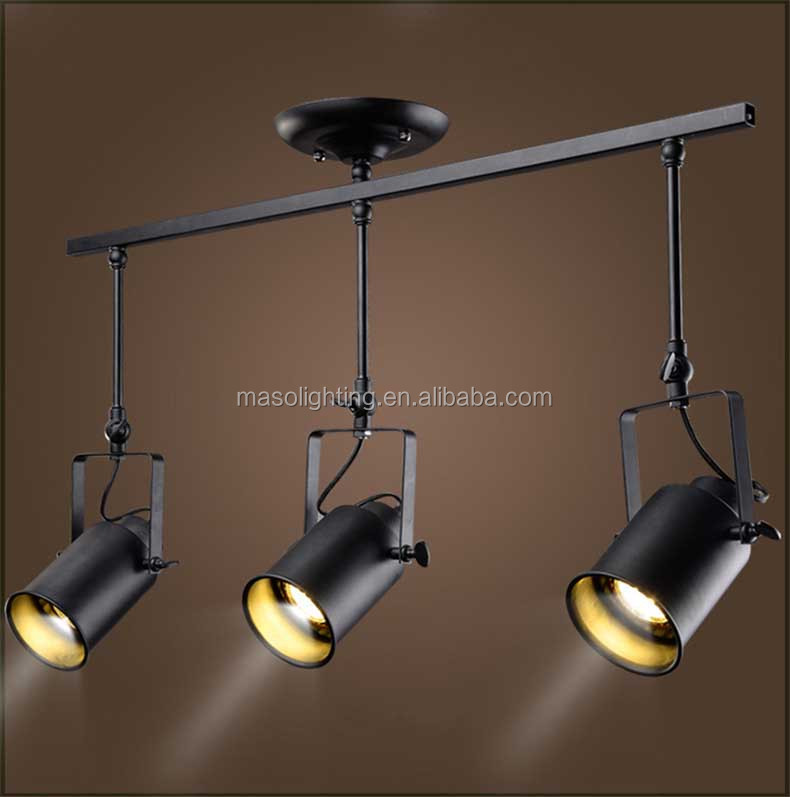 Industrial Retro LED droplight for Showroom Shopping mall Coffee shop Display decoration Energy saving LED ceiling light fixture