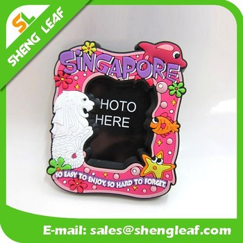 Different cute design of fridge magnet with photo frame
