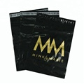 custom plastic mailing bags printed poly mailer custom with gold printing logos for clothing