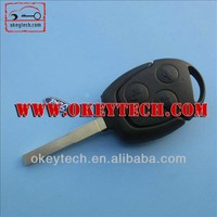 Best price car key remote Ford Focus remote key 433Mhz 4D63 chip ford key blanks focus ford key fob